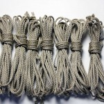 Newly arrived: Pre-waxed blonde jute shibari rope
