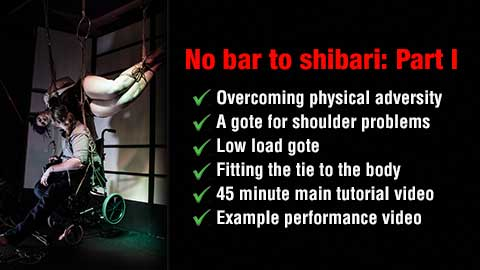 shibari and physical limitations