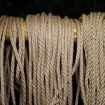 Interesting shibari rope samples in jute, hemp and synthetic fibre