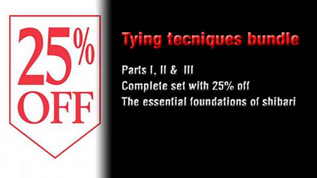 25% off 'Tying techniques & rope handling' trilogy