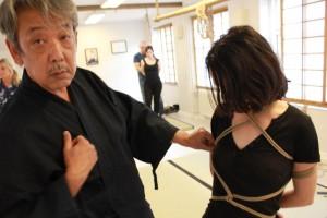Yukimura Haruki, kinbaku master