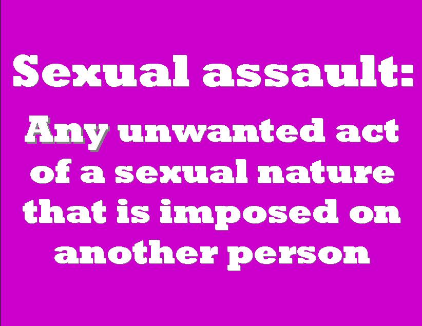 Know the legal requirements when caring for sexual assault victims