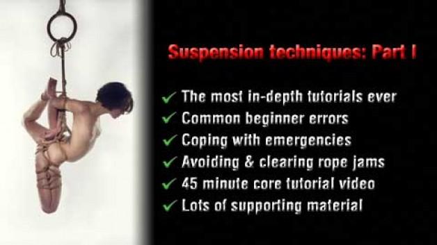 Shibari suspension techniques: Part I