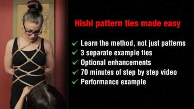 Hishi patterns made easy