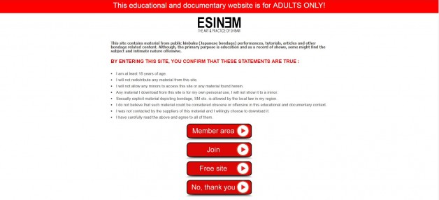 Changes on ESINEM websites