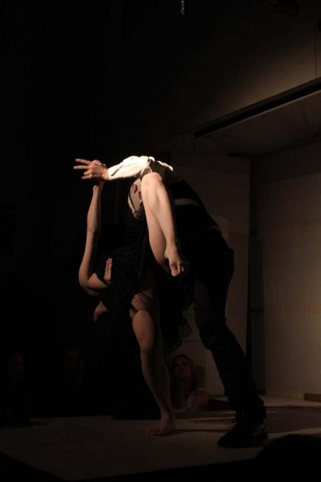 Shibari is a dance