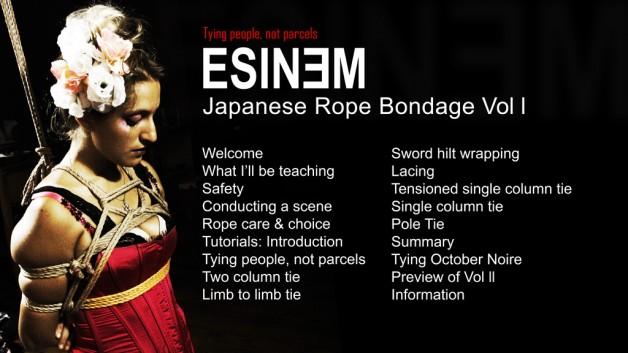 Shibari.TV: 'Japanese Rope Bondage: Tying people, not parcels', Sun 20 Oct