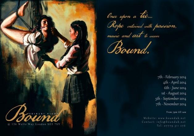 BOUND shibari night: 4 September